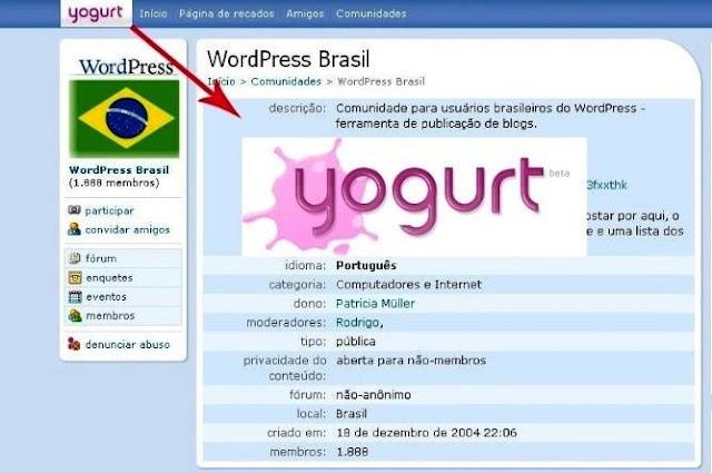 Orkut vira Yogurt