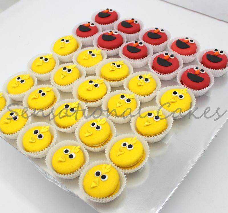 The Sensational Cakes Sesame Street Theme Dessert Table