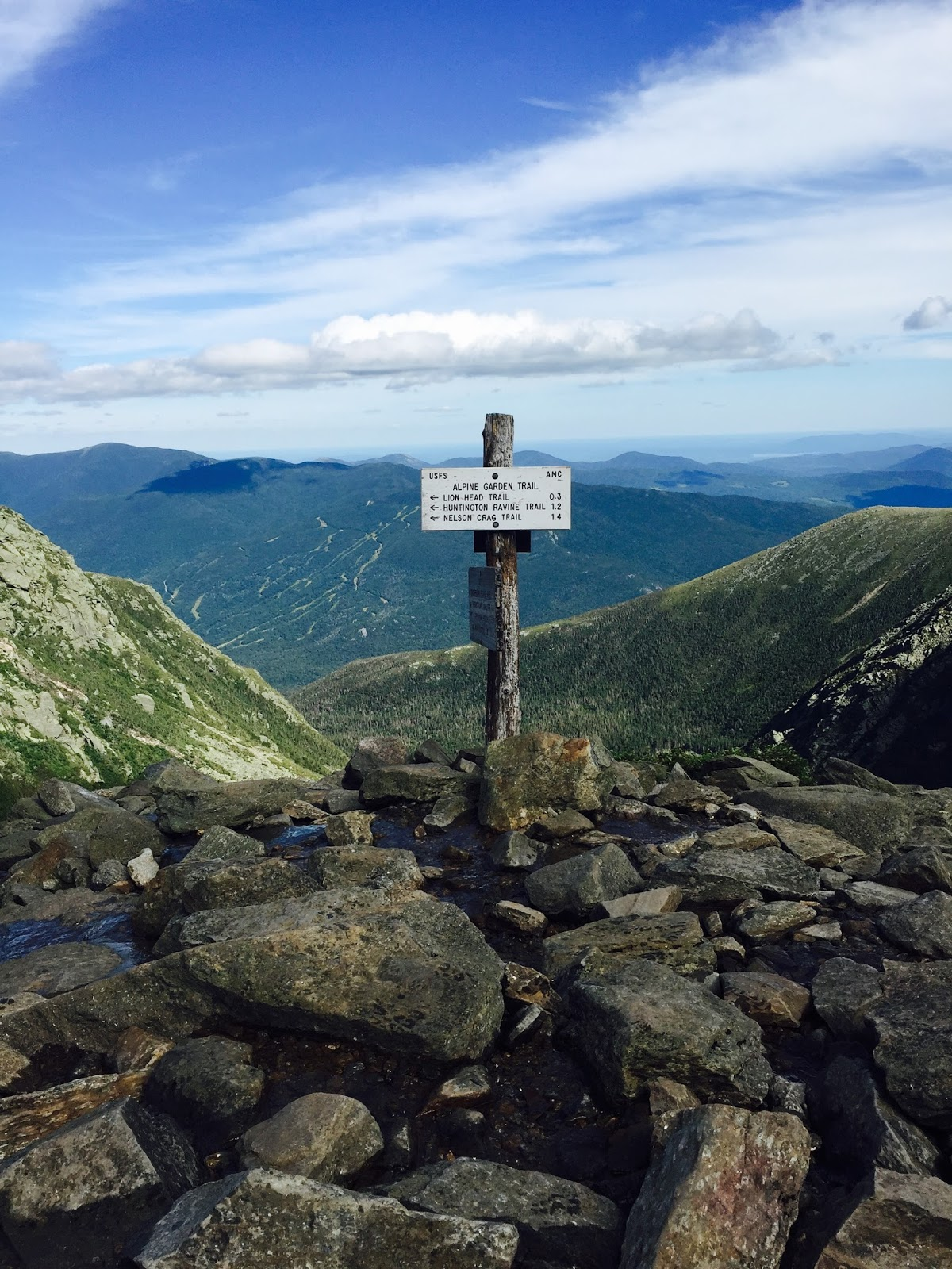 tuckerman's ravine trail