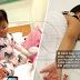 'Terseksa hati tengok anak cirit 15 kali, muntah 10 kali sehari' - Bayi dijangkiti Rotavirus, ibu kesal orang lain suap anaknya makan tanpa basuh tangan