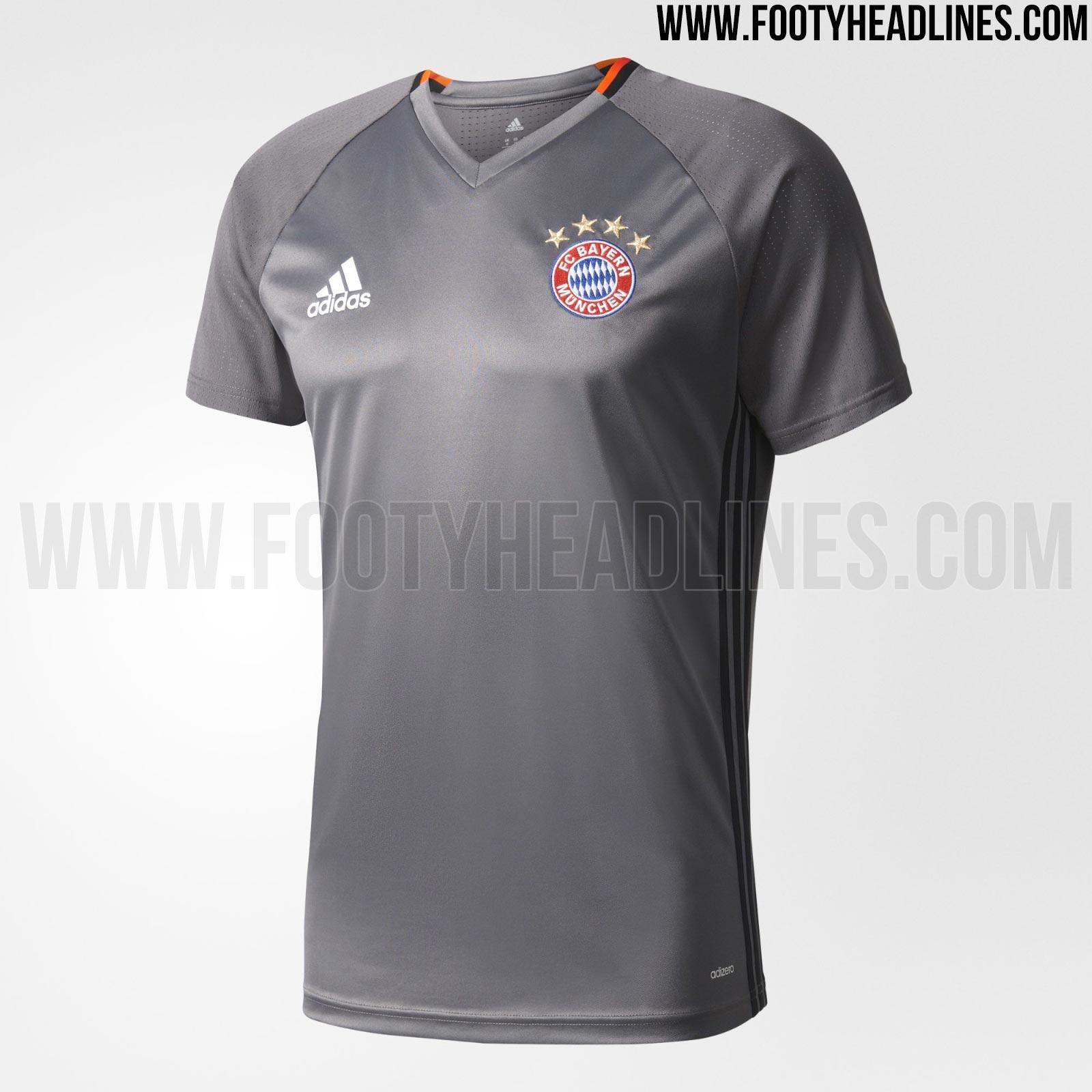 Bayern Munich 2017 Training Shirt Leaked - Footy Headlines d18ec2181