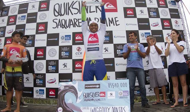 Wiggolly Dantas Quiksilver Saquarema Prime 2014