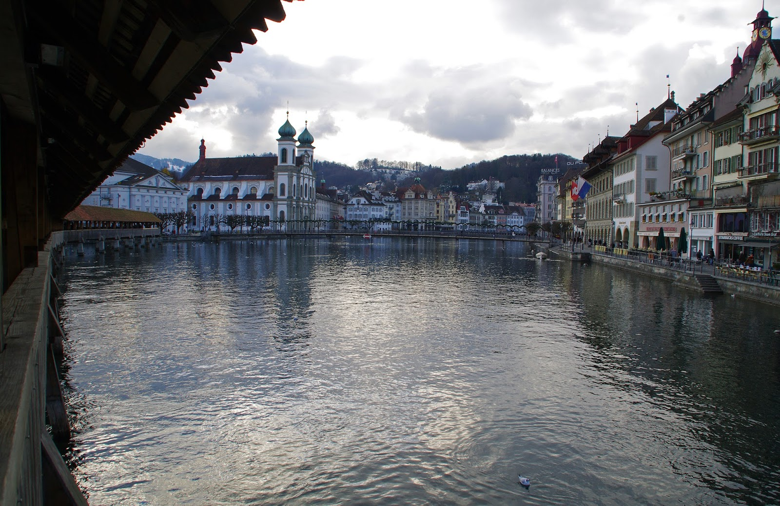Lucerne Switzerland Old Town