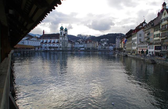 Lucerne Switzerland Old Town