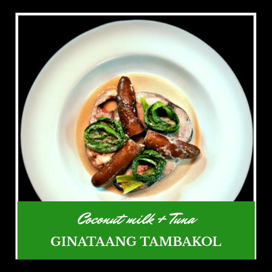 ginataang tambakol www.jeepneyrecipes.com