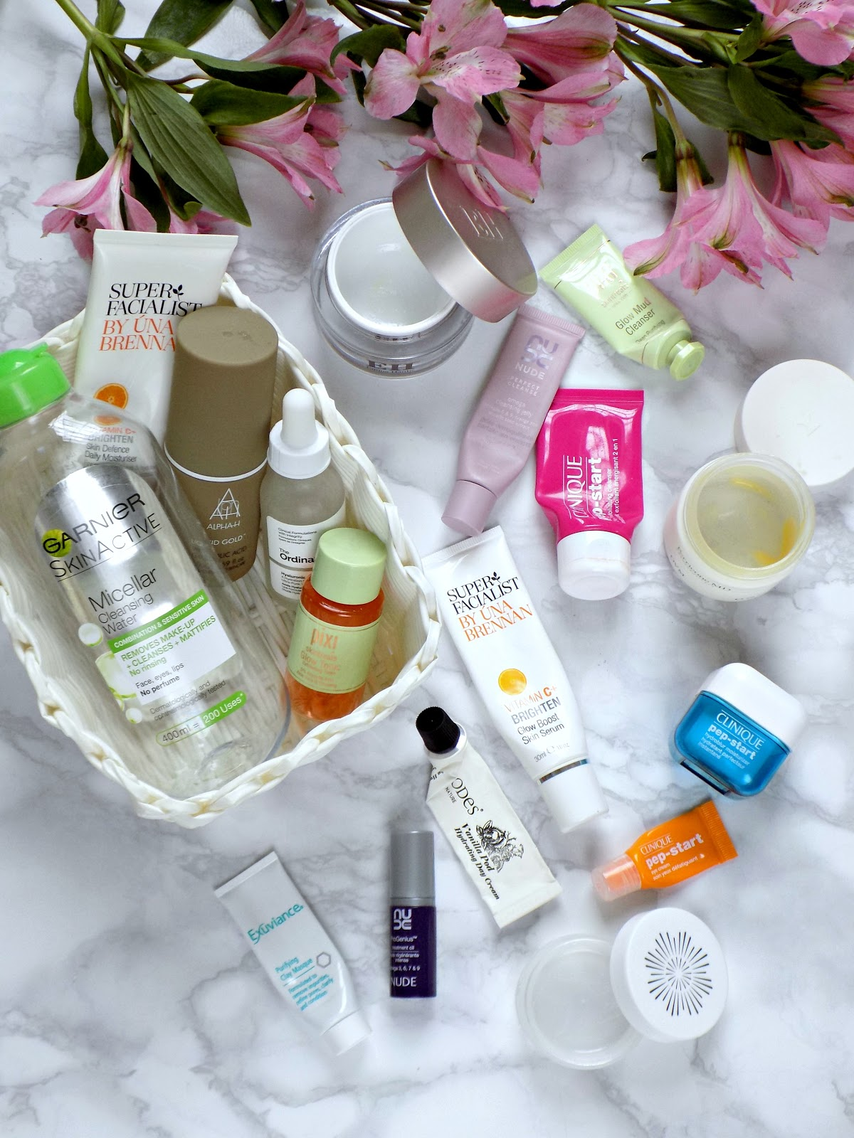 Skincare products I've used up lately