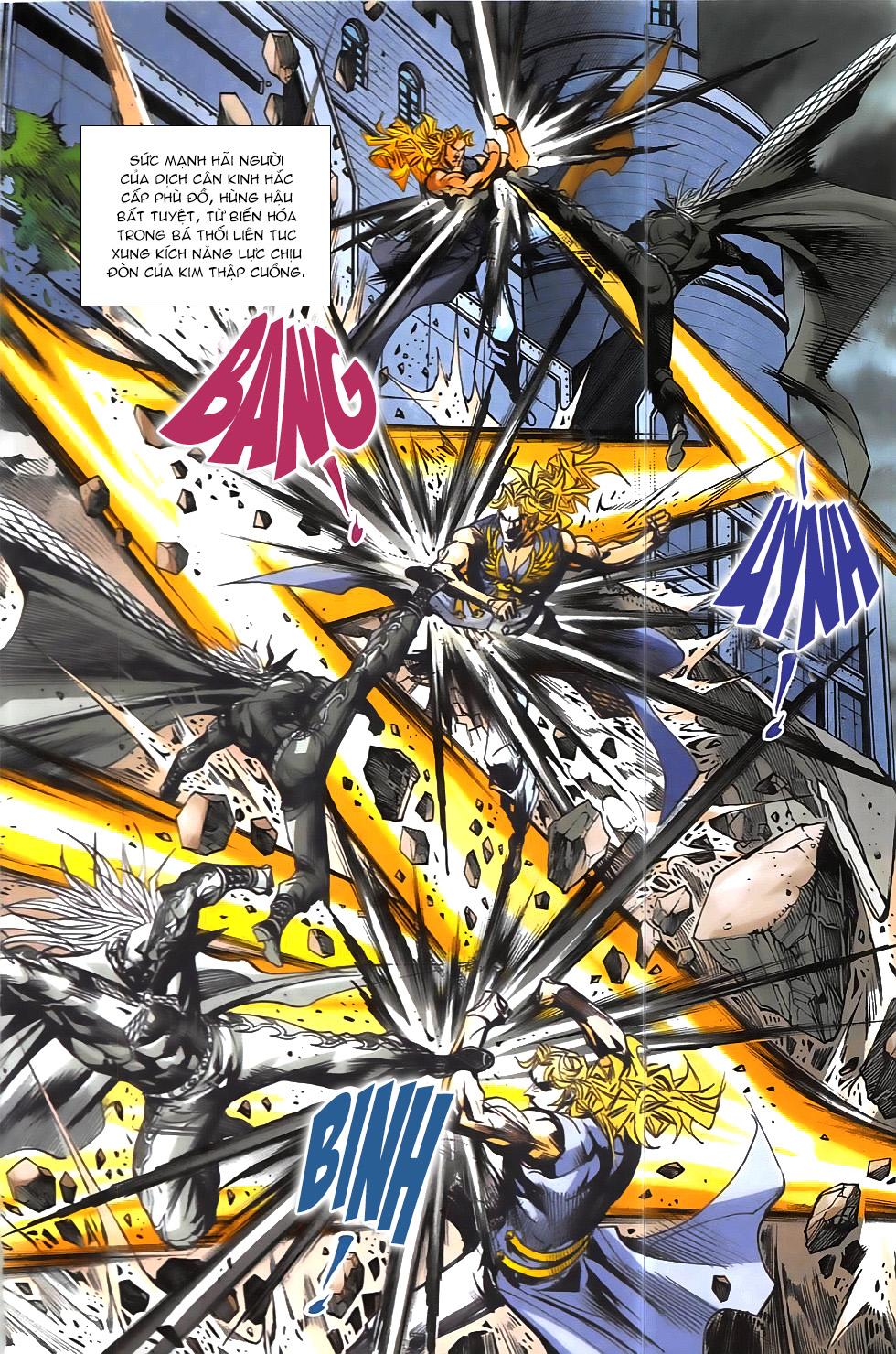 Hoàng Giả Chi Lộ chap 12.2 Trang 22 - Mangak.info