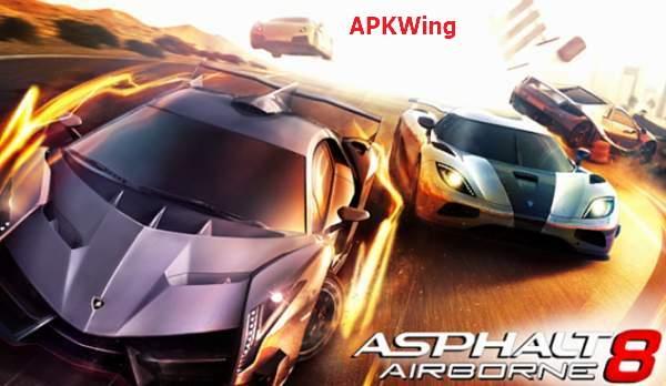 Asphalt 8 Airborne APKWing