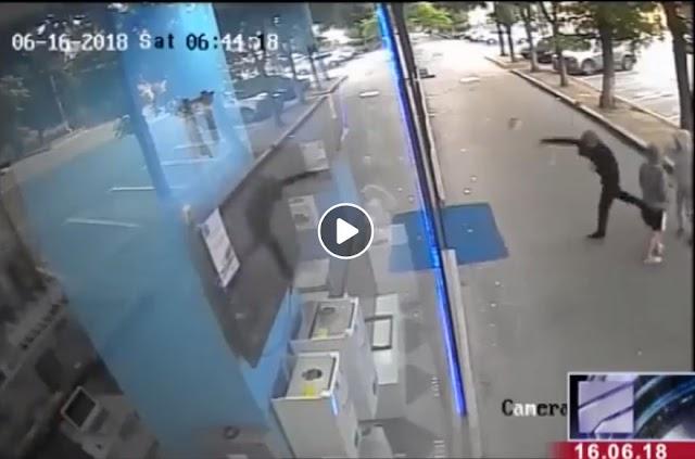 В Тбилиси ограбили магазин BEKO