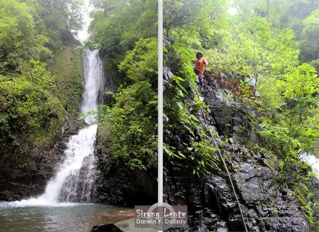 bugtong bato water falls