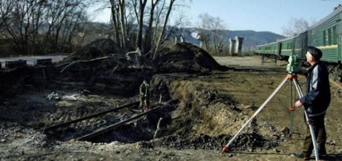 В Сибири откопали железную дорогу
