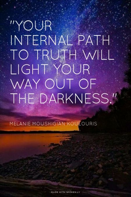 Positive Inspirational Quotes Your Internal Path To Truth Will