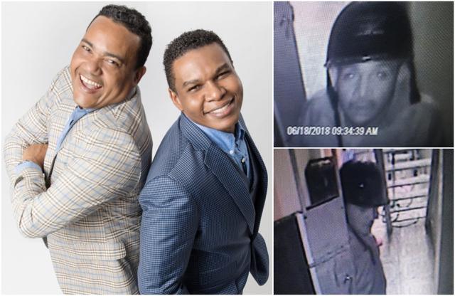"""Raymond y Miguel: """"Esta es la cara del delincuente que nos visitó el domingo"""""""