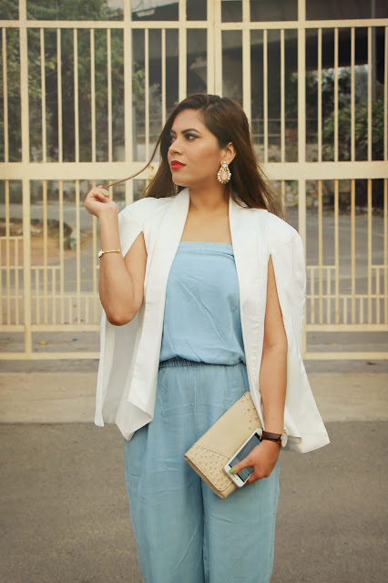 fashion, denim fashion, denim jumpsuit, Loose Cape Coat, how to style cape coat, how to style jumpsuits, delhi blogger, delhi fashion blogger, indian blogger, indian fashion blogger, glam party outfit, ,beauty , fashion,beauty and fashion,beauty blog, fashion blog , indian beauty blog,indian fashion blog, beauty and fashion blog, indian beauty and fashion blog, indian bloggers, indian beauty bloggers, indian fashion bloggers,indian bloggers online, top 10 indian bloggers, top indian bloggers,top 10 fashion bloggers, indian bloggers on blogspot,home remedies, how to