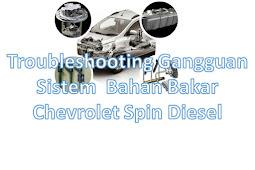 Memeriksa Sistem Bahan Bakar Chevrolet Spin Diesel