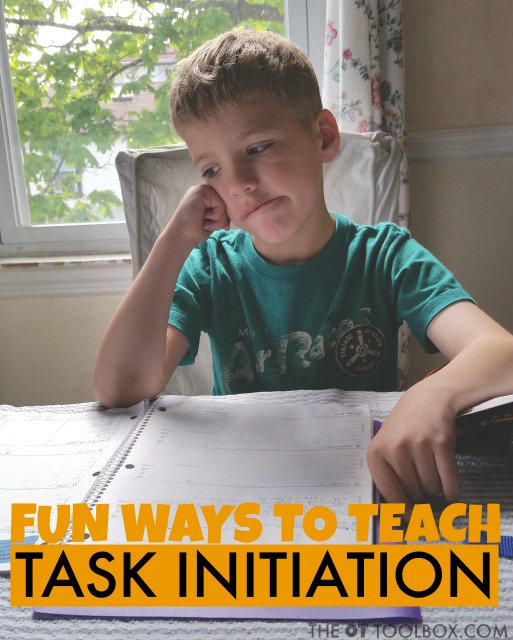 Task initiation is a subset of executive functioning that enables us to perform and succeed.  Below is more information on task initiation related to children and playful ways to build this executive function skill.