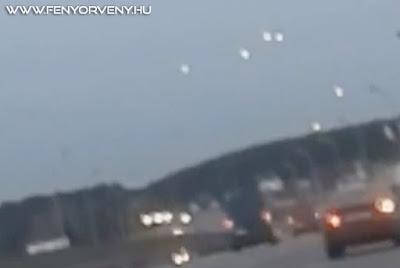 UFO flotta Minszk felett