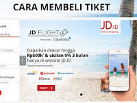 Promo Tiket Pesawat di JD.ID