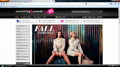 Everything 5 Pounds Website