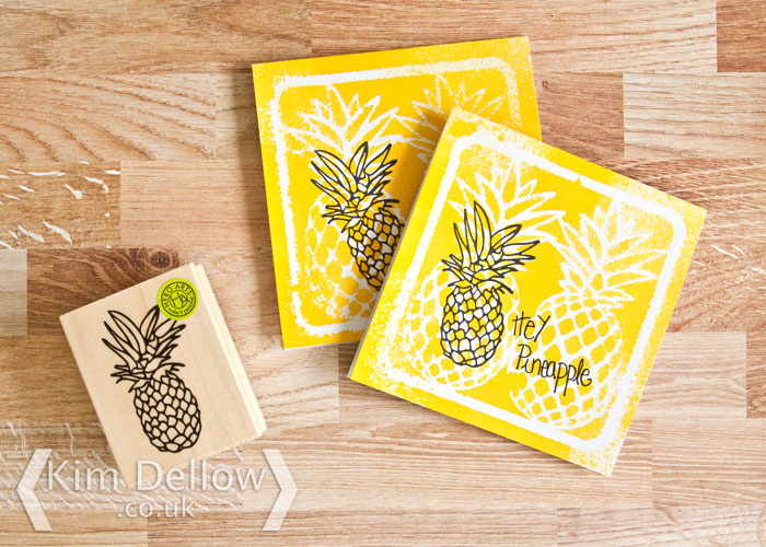 Kim Dellow Pineapple Party Invites For Blitsy