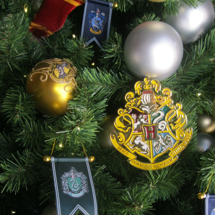 Harry Potter Christmas Hogwarts Ornaments