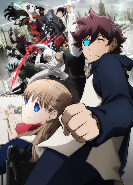 Kekkai Sensen & Beyond (12/12) + OVAS (140MB) (HDL) (Sub Español) (Mega)