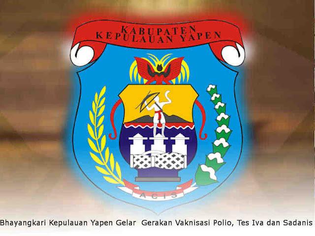 Bhayangkari Kepulauan Yapen Gelar Gerakan Vaknisasi Polio, Tes Iva dan Sadanis