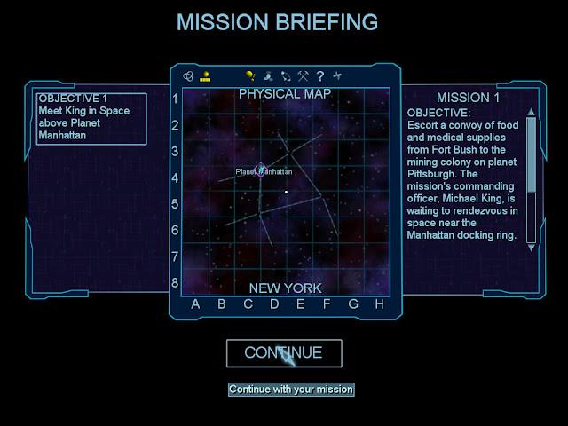 Map Screenshot | Freelancer Game