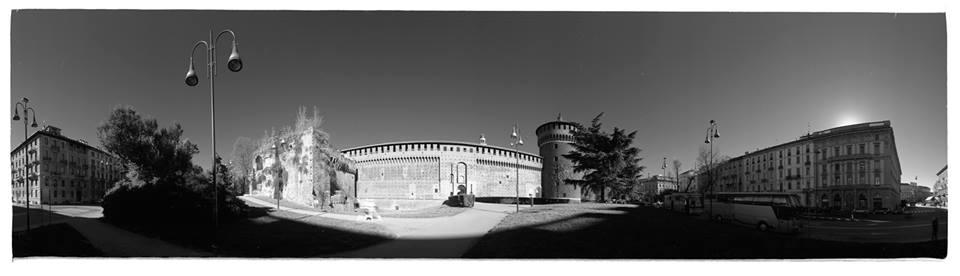 Milano, il Castello Sforzesco - Fotografia di Giorgio Jano