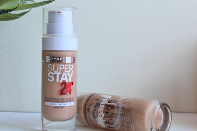 Maybelline Super Stay 24h Vs. Maybelline Dream Satiné Fluido
