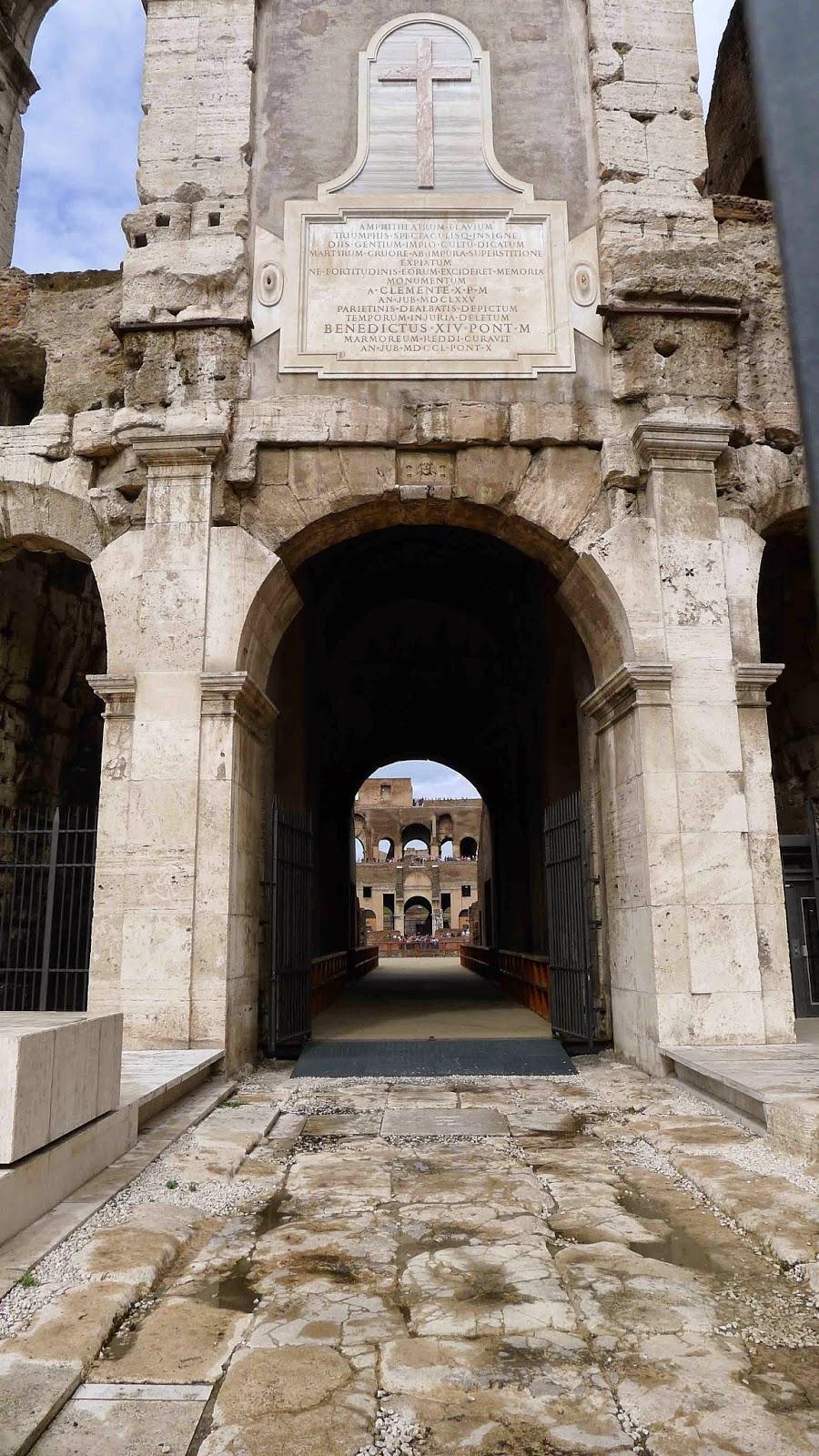 Rome Colosseum Gate