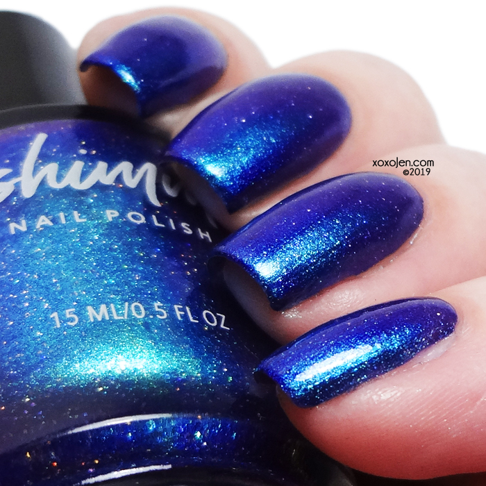 xoxoJen's swatch of kbshimmer All Down Hill From Here