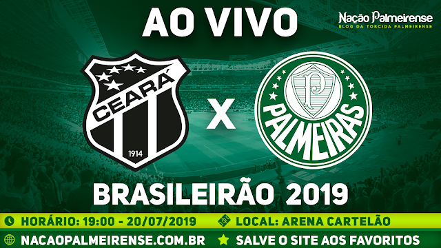 Assistir Ceará x Palmeiras Ao Vivo