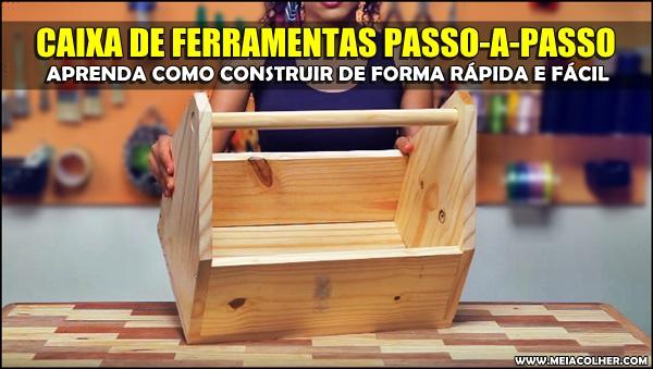 construir caixa ferramentas