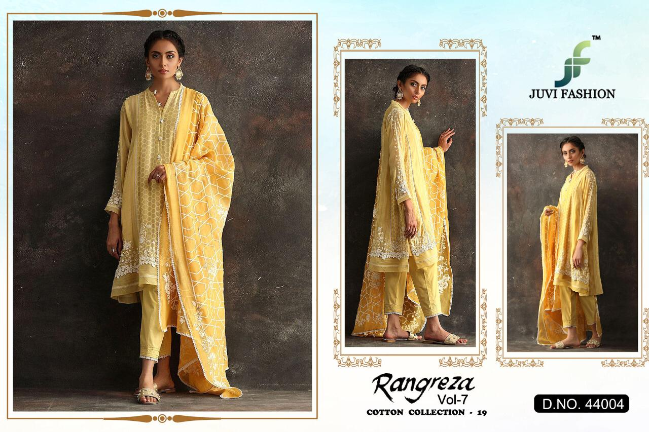 3671ccd2d3 juvi fashion Rangreza vol 7 Pakistani Suits wholesale - Diwan fashion