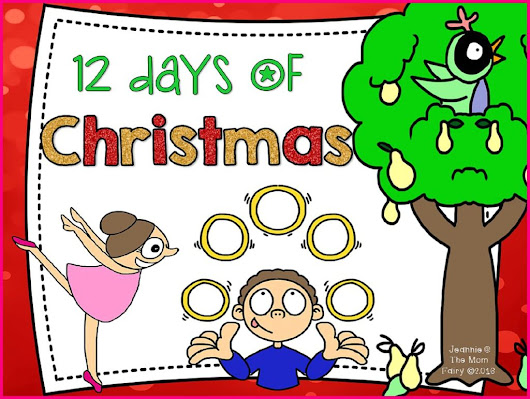12 Days of Christmas Freebie