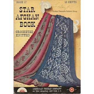 Knit and Crochet Patterns, Book 17 from American Thread