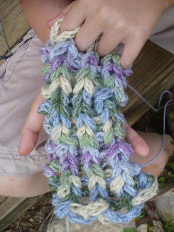 The Enchanted Tree Finger Knitting And Hula Hoop Weaving