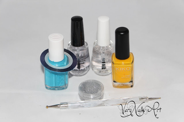manicura mix and match material