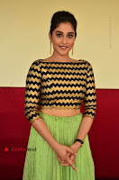 Actress Regina Candra Latest Pos in Green Long Skirt at Nakshatram Movie Teaser Launch  0142.JPG