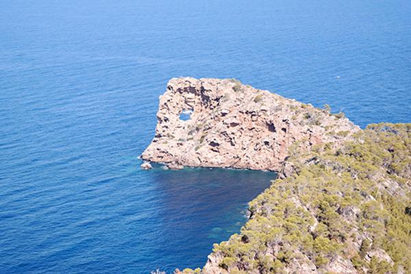 Reiseführer Mallorca - Wanderung Sa Foradada Lochfelsen