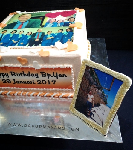 Cake Boss Edible Images : Order Kue Online Adiel Cakes by Dapur Mayang: Edible Photo ...