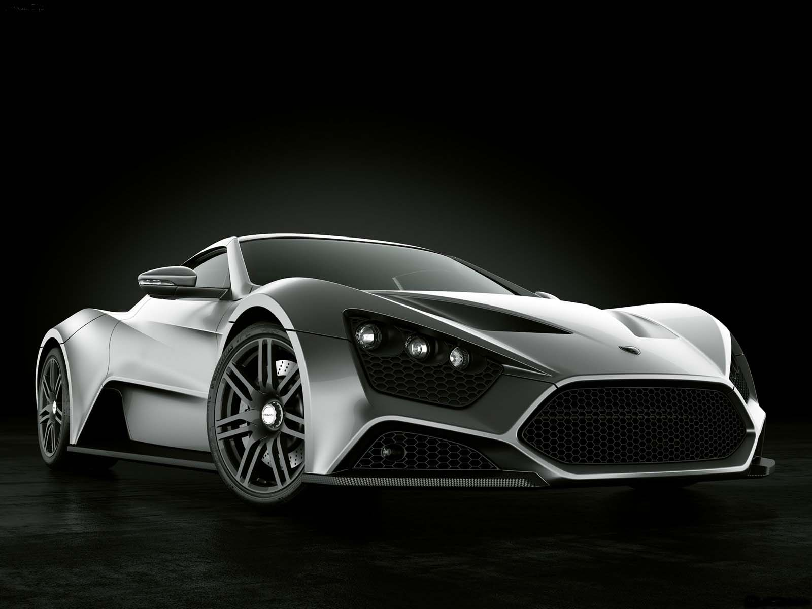 Sport Cars: Zenvo ST1 Hd Wallpapers 2010