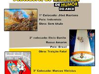 The Winners of 3º ABCD Humor International Saloon, Brazil