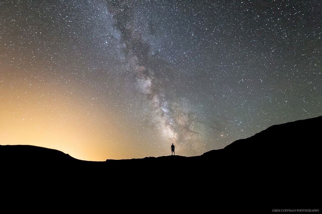 3. Milky Way Silhouette - The World at Night with Clear Skies and No Light Pollution