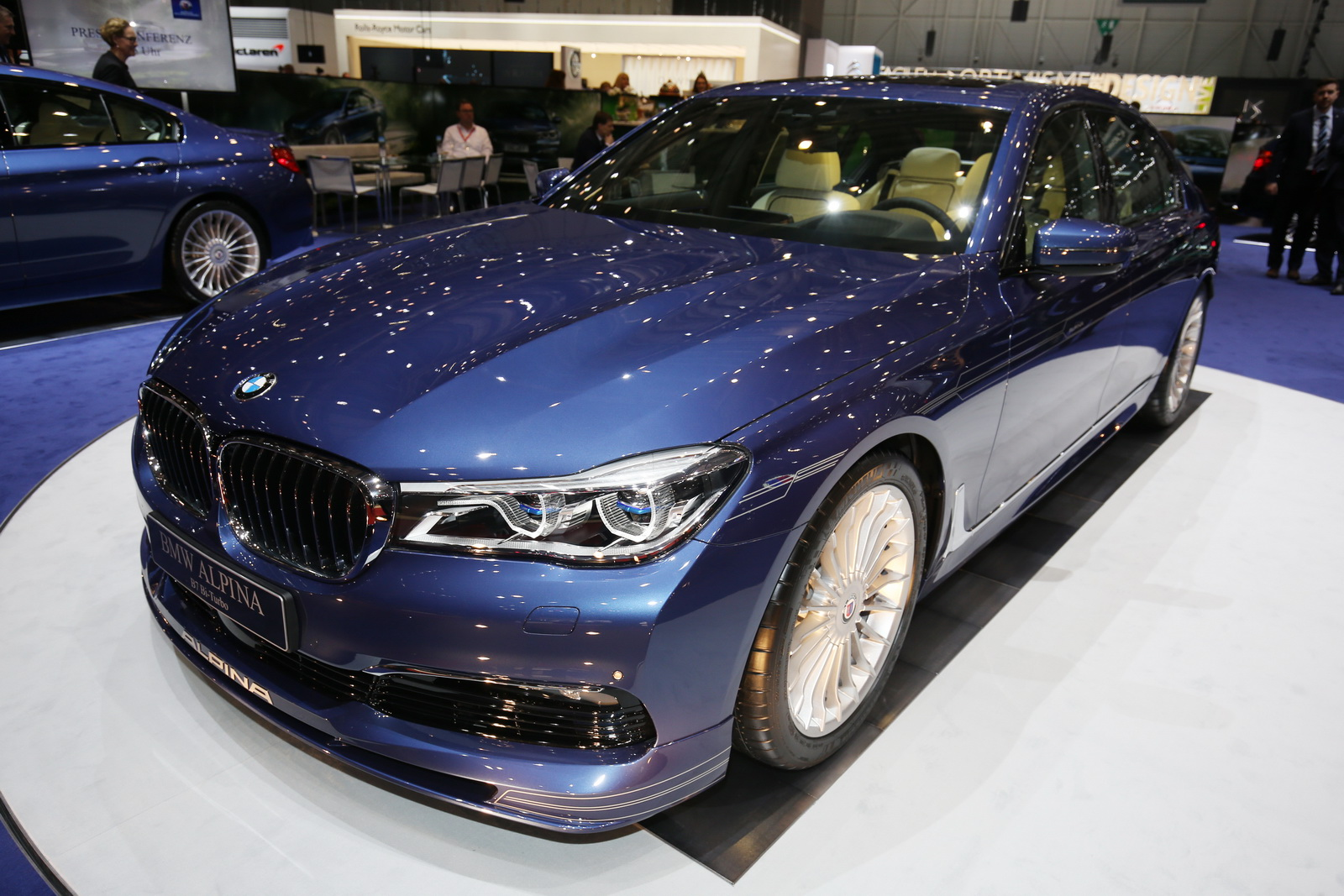 Alpina B7 Blue Thunder 2017