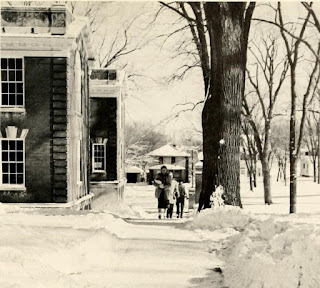 snowy campus