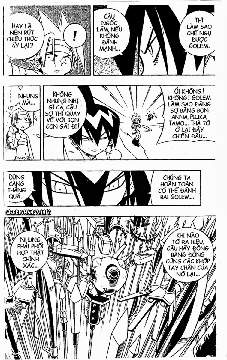 Shaman King [Vua pháp thuật] chap 200 trang 11