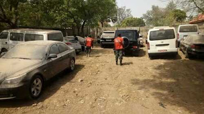 EFCC Recovers More Vehicles 'Secretly Stolen' by Former Nigeria Customs Boss