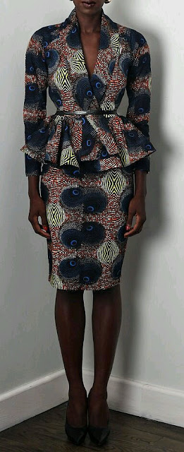 Check out these 15 inspiring Ankara short skirt and blouse styles